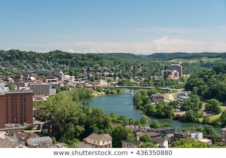 Città Virginia Occidentale panoramica skyline cityscape home Foto d'archivio © backyardproductions