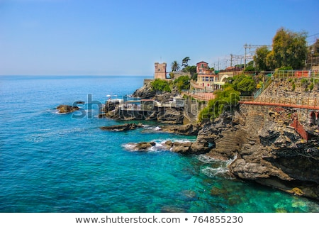 promenade in Nervi, Genova Stock photo © Antonio-S