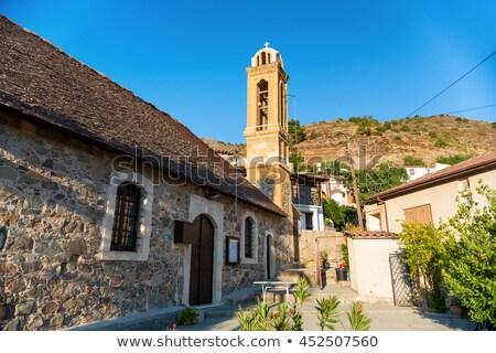 Igreja aldeia distrito Chipre viajar ilha Foto stock © Kirill_M
