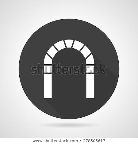 建設 · 要塞 · ドア · 石 · メーソンリー · アーチ - ストックフォト © sdcrea