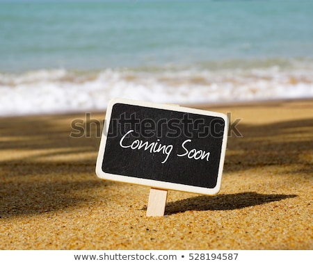 coming soon text with light focus Stock photo © SArts
