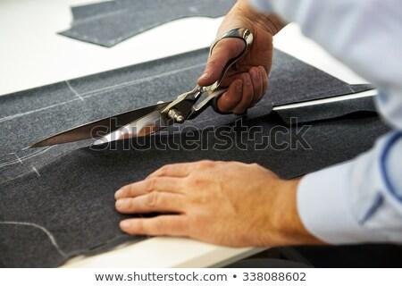 Sur mesure homme travail magasin Photo stock © Yatsenko