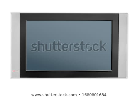 Gray Computer Monitor with Audio Speakers Stock photo © robuart