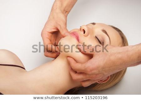 donna · trattamento · termale · mani · donne · corpo · salute - foto d'archivio © nikodzhi