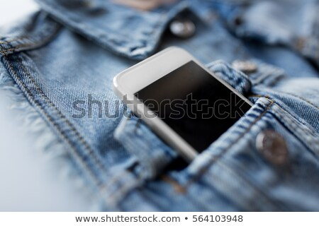 Cep kot ceket yelek teknoloji Stok fotoğraf © dolgachov