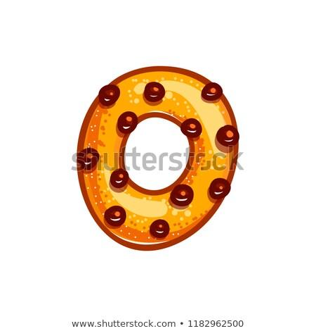 Mektup kurabiye kurabiye bisküvi Stok fotoğraf © popaukropa