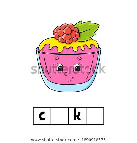 indovinare · parola · biscotto · gioco · bambini · compito - foto d'archivio © Olena
