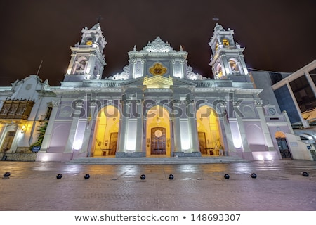 Virgin cathedral, Salta, Argentina Stock photo © daboost