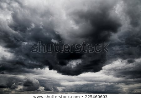 Dramatic stormy sky, dark clouds before rain Stock photo © stevanovicigor