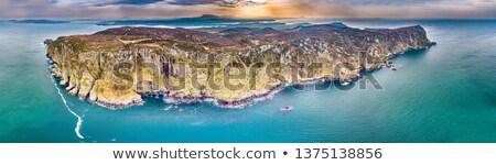 ホーン · 頭 · 水 · 旅行 · 岩 - ストックフォト © alessandro0770