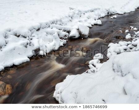 движения заморожены берег реки длительной экспозиции выстрел Сток-фото © Mps197