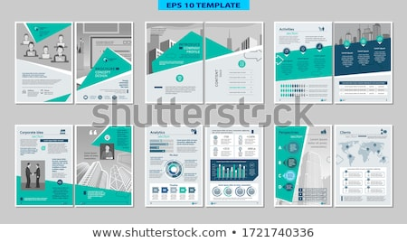 Stock photo: Vector Infographic report template
