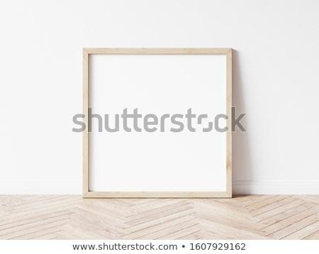 広場 木材 フレーム ストックフォト © ajt