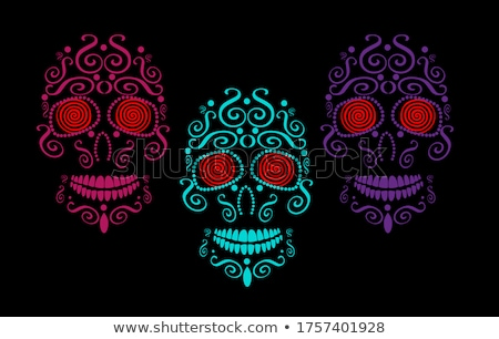 day of the dead eyes set Stock photo © romvo