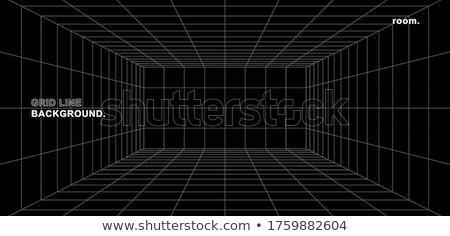 digitális · űr · hálózat · kék · scan · vonalak - stock fotó © swatchandsoda