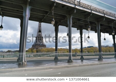 ''Bir Hakeim'' bridge - Paris, France Stock photo © hsfelix