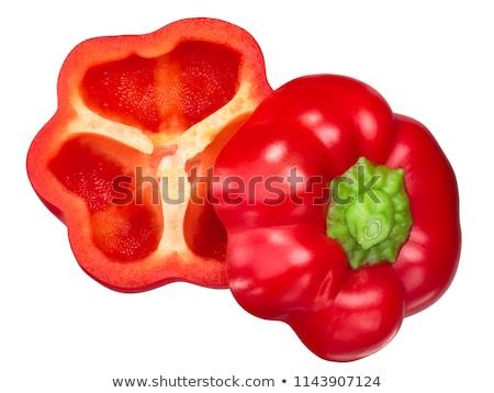 Pimenta doce romeno fruto maduro Foto stock © maxsol7