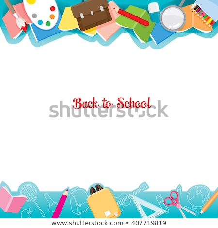 школы колледжей канцтовары книгах образование математика Сток-фото © robuart