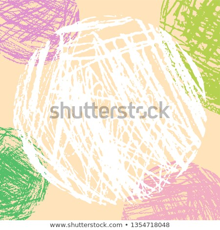 Colorful Crayon style figure Stock photo © Blue_daemon