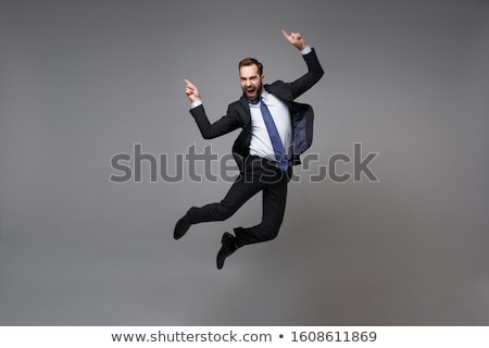 Leaping Businessman Stock photo © THP