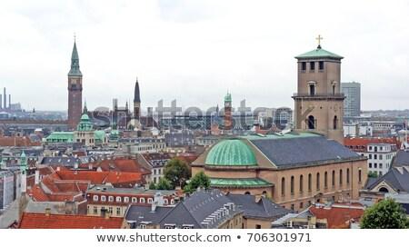 Kerk dame Kopenhagen kathedraal Denemarken jesus Stockfoto © borisb17