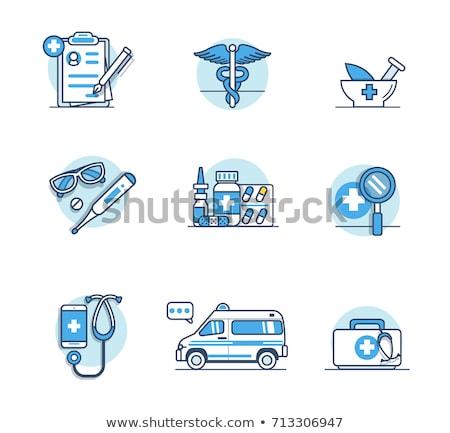 médico · casa · ícone · projeto · hospital - foto stock © imaagio