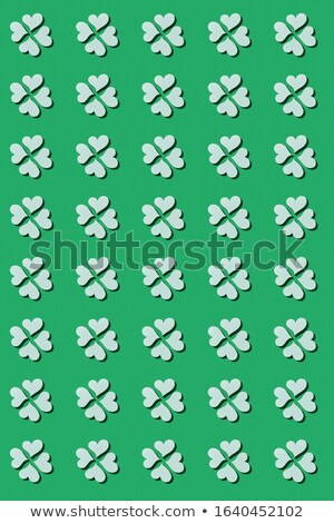Vertical creative St.Patrick 's Day holiday background . Stock photo © artjazz