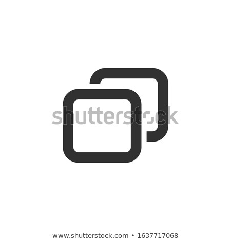 Add new tab, slide, or section line art vector icon for apps and websites. Stock Vector illustration Stock photo © kyryloff