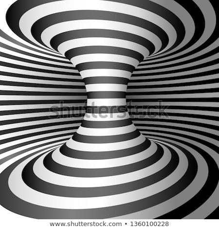 черная · дыра · аннотация · дизайна · геометрический - Сток-фото © valkos