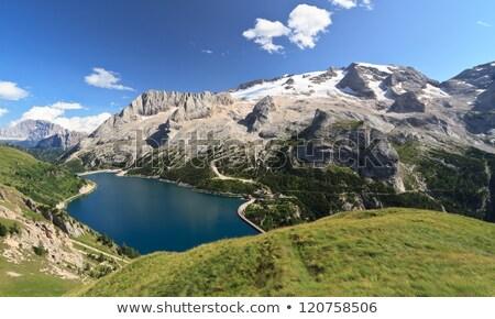Dolomites landscape - Fassa valley Stock photo © Antonio-S