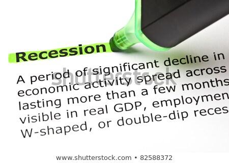 zuhan · medve · piac · válság · pénzügyi · hanyatlás - stock fotó © ivelin