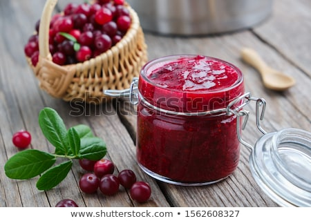 Cranberry Jam Stock photo © SimpleFoto