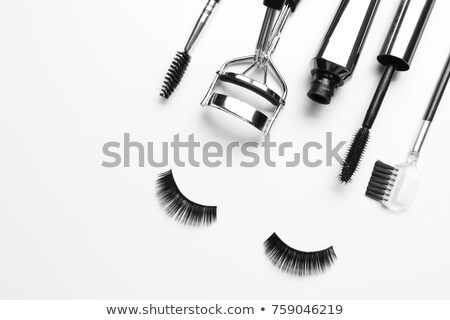 False eyelash brush Stock photo © vichie81