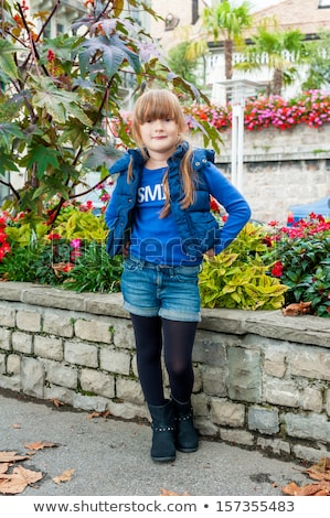 girl in blue tights Stock photo © RuslanOmega