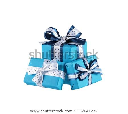 3  ポルカ 点在 クリスマス 銀 ストックフォト © xaniapops