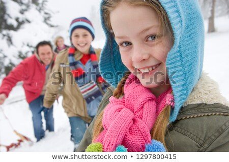 Family outing on a winter's day Stock photo © photography33