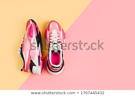 pink sneakers stock photo © ariwasabi