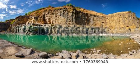 granito · rocas · cubierto · superficie · negro · color - foto stock © inaquim