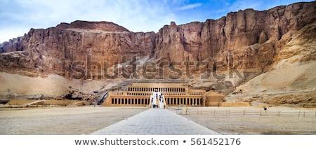 Stockfoto: Tempel · Egypte · zonnige · landschap · reizen · steen