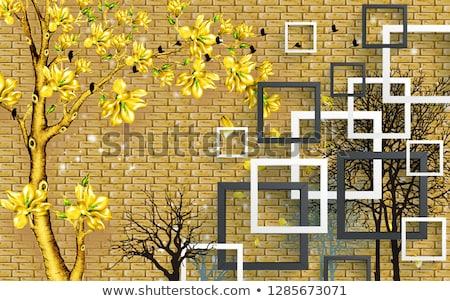 Mur vieux endommagé peinture couvert Photo stock © pzaxe