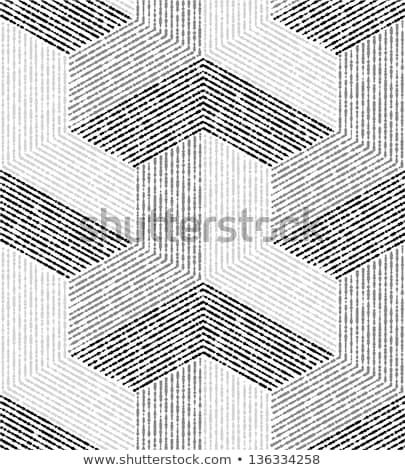 3D · geometrica · architettonico · vettore · arte - foto d'archivio © Sylverarts