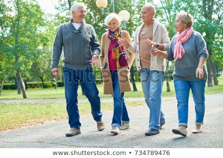 senior couple going for a walk Stock photo © photography33