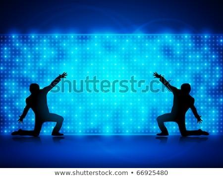 abstrato · dança · estrelas · negócio · feliz · arte - foto stock © gubh83