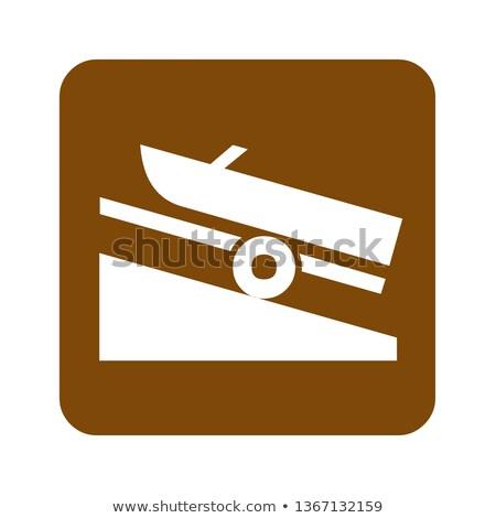 ship sign boat ramp stock photo © ustofre9