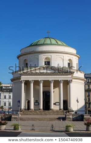 Three Crosses Square in Warsaw, Poland Stock photo © photocreo