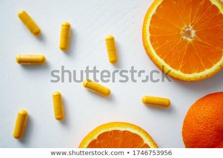 orange pills Stock photo © ArenaCreative