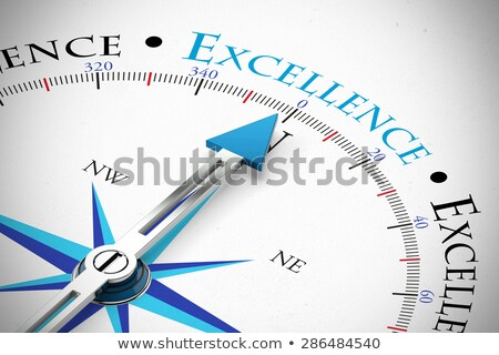 Stock photo: Excellence. Business Background.
