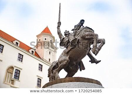 Statue of Svatopluk. Stock photo © FER737NG