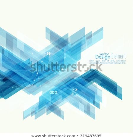 veri · bütünleşme · bilgi · mavi · ok · slogan - stok fotoğraf © tashatuvango