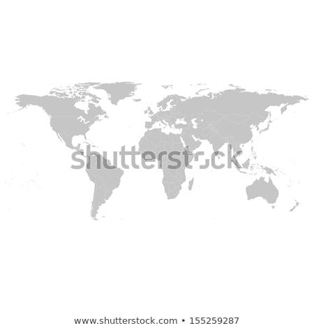 Groene wereldkaart grunge textuur business communicatie wereld Stockfoto © stevanovicigor